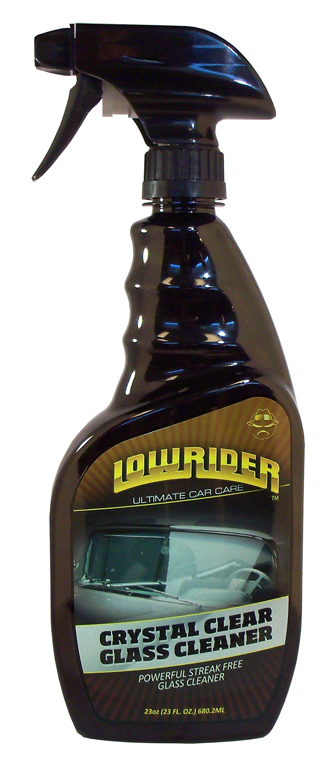 Lowrider LD833-23 Crystal Clear Glass Cleaner - 23 oz.