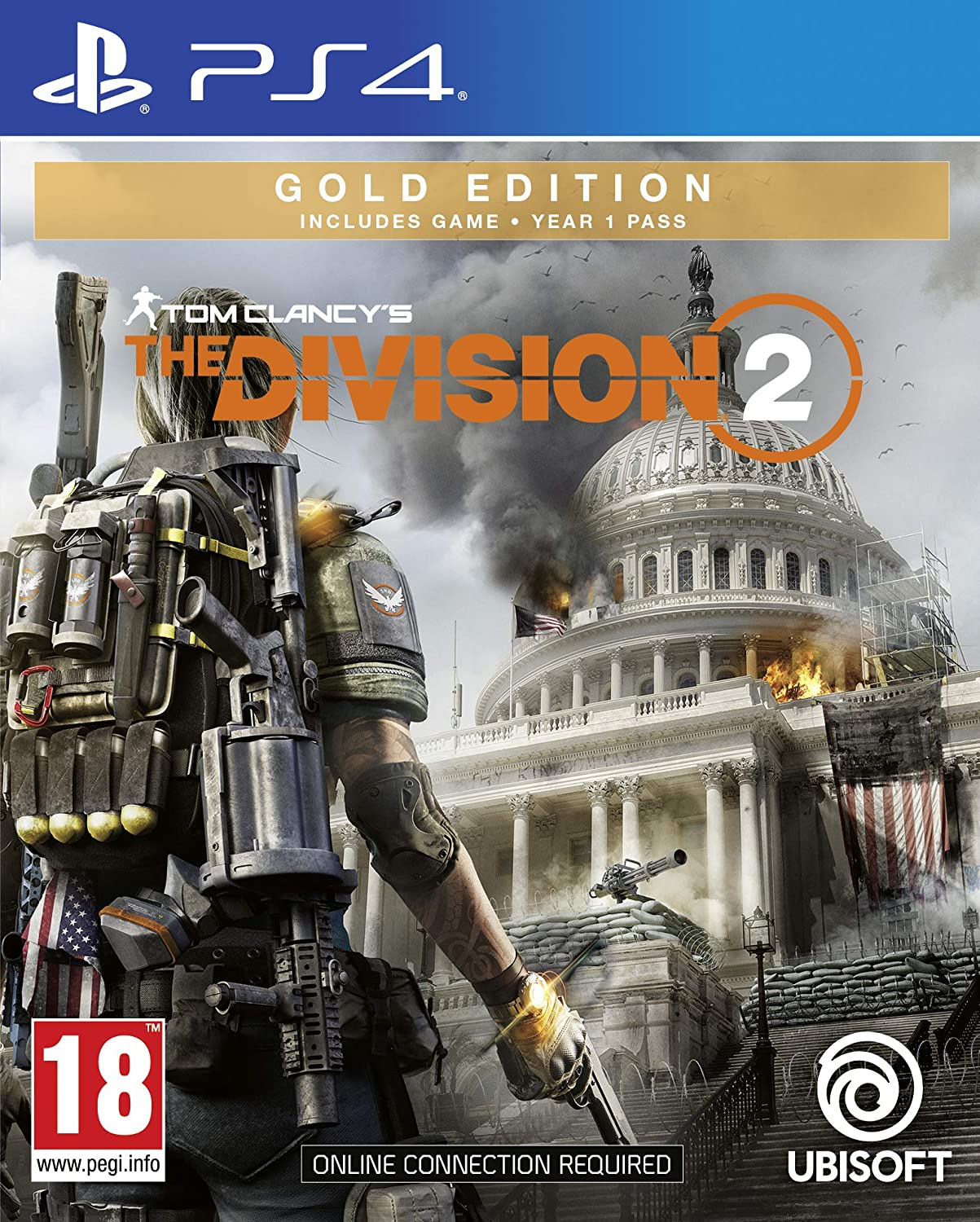 Tom Clancy's The Division 2 Gold Edition (PS4): Amazon co uk