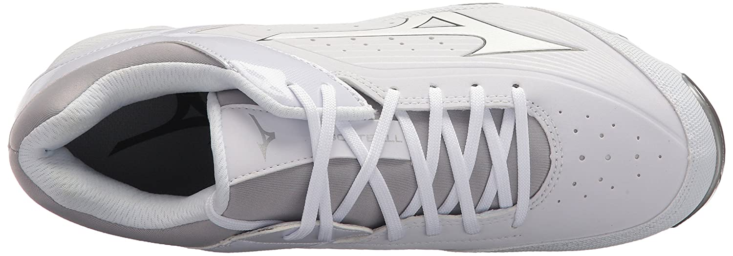 Mizuno Women's Swift 5 Fastpitch Cleat Softball Shoe B071ZRMY12 8 B(M) US|White/White