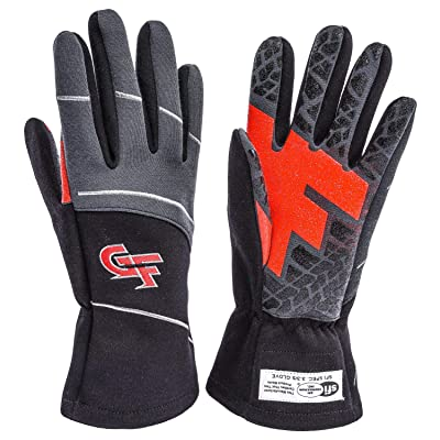 G-Force Men\'s G7 Racing Glove (Black, Medium): Automotive [5Bkhe0803829]