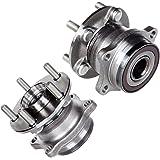 Detroit Axle (512401 x2) Rear Wheel Hub & Bearing Assembly (2pc Set)