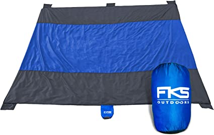 Sporting Events Festivals picnics Sand Free Compact Camping Lightweight Quick Dry Durable Outdoors Blanket for Beach 9 x 10 Portable