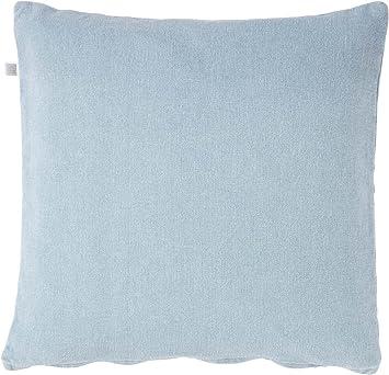 Baumwolle Kissenbezug Dutch Decor Kissenhülle Anna 50x50 cm blau