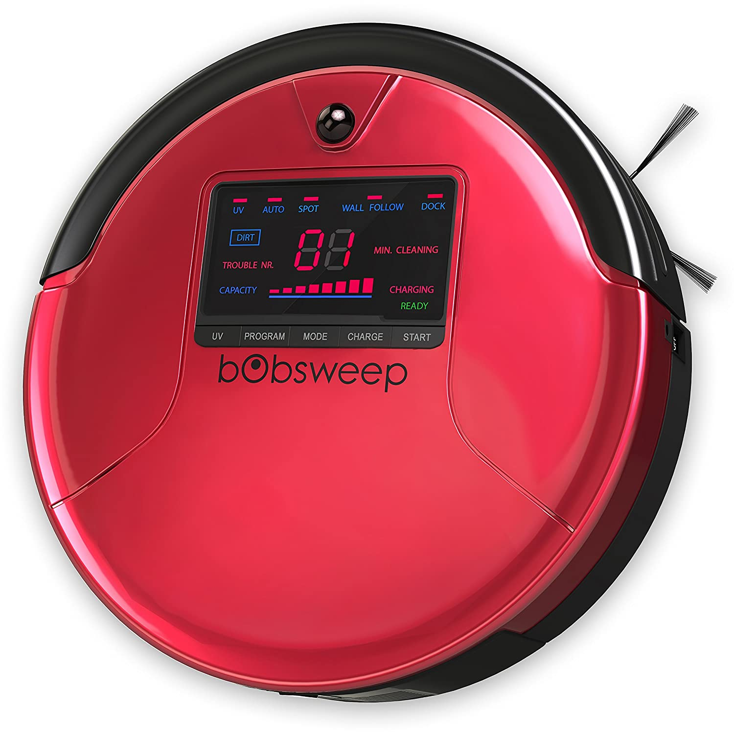 Amazon bObsweep PetHair Robotic Vacuum Cleaner and Mop Rouge