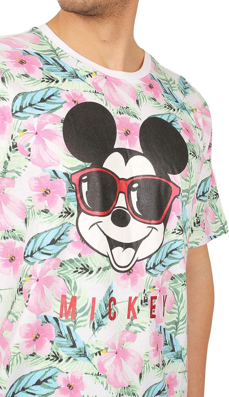 da uomo Pigiama a maniche corte Disney motivo: Topolino Jungle
