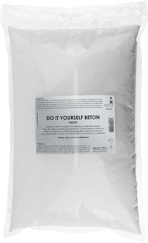Hormigón blanco DIY BETON