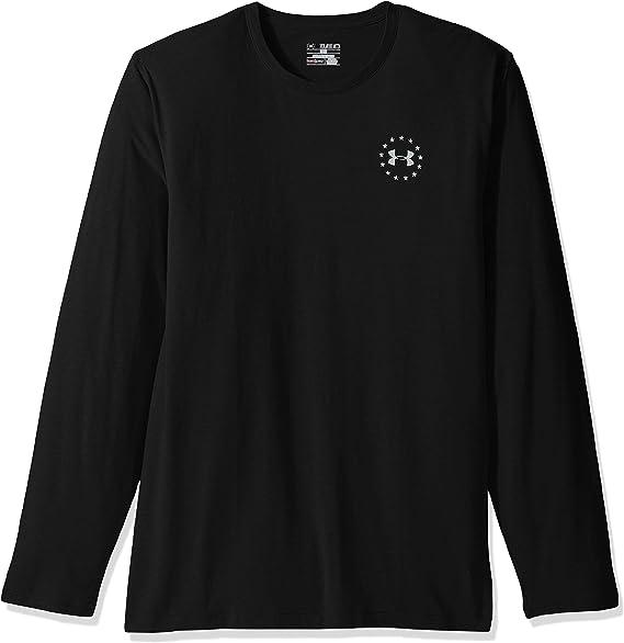 New Under Armour Boy/'s Big UA Logo Long Sleeve T-Shirt SIZE S MSRP:$24.99