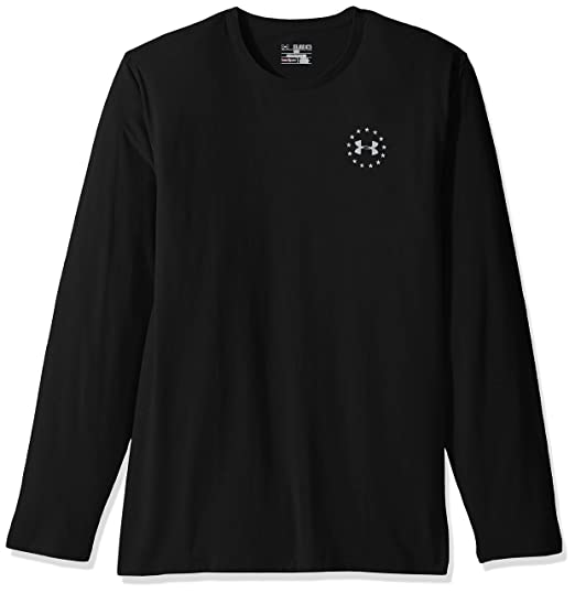 b9658e418 Amazon.com: Under Armour Men's Freedom Flag Long Sleeve T-Shirt: Clothing