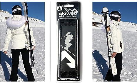 Ski Lift Ski /& Pole Carrier with Free Boot Strap