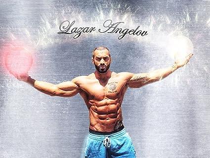 Amazon com: Lazar Angelov - BodyBuilding Muscle Man Fabric