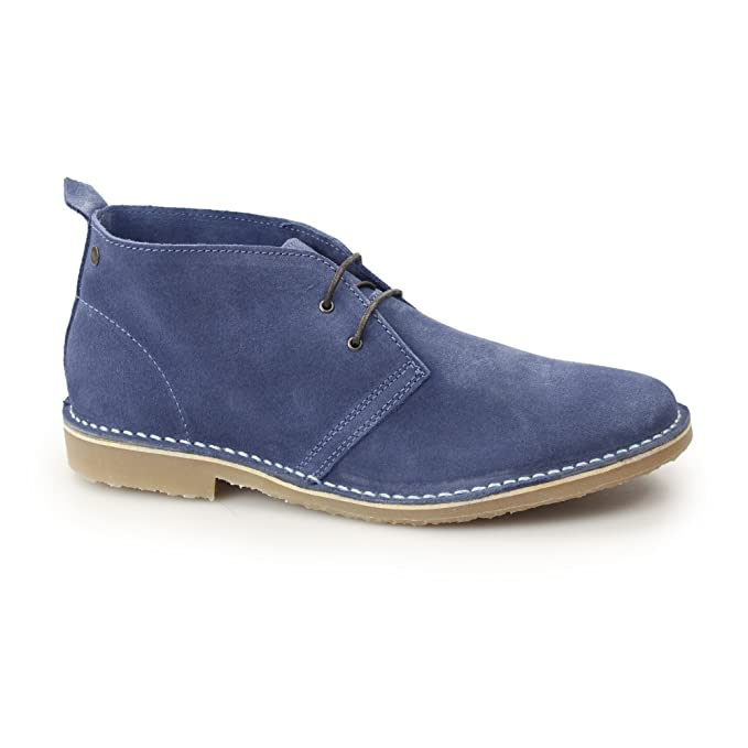 suede blue JONES JACK blue gobi Stivaletto marrone 42 uomo dark xFznf7zw