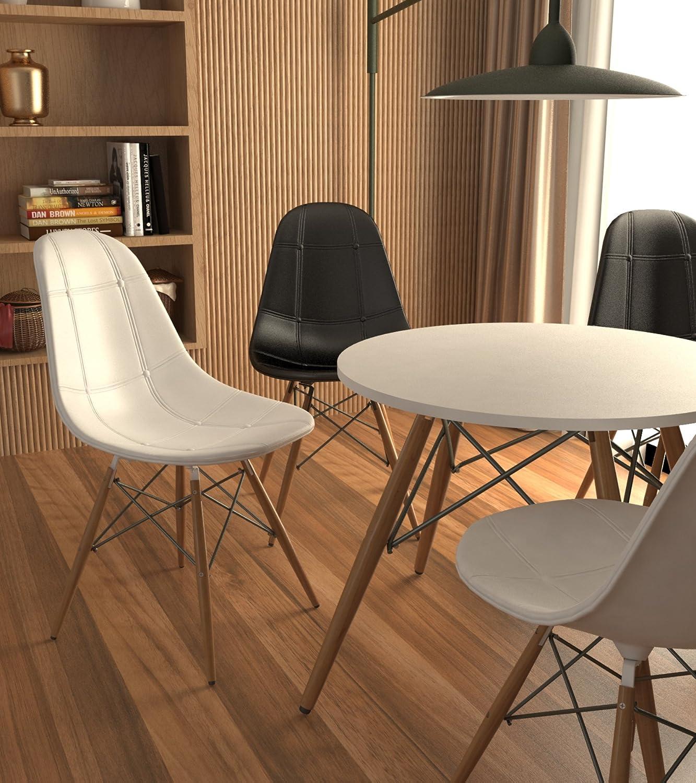 BEAT COLLECTION Dining 2 - Mesa para Comedor, 72 x 80 x 80 cm, Color ...