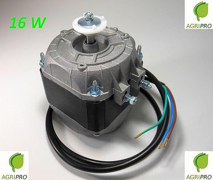 Motor con ventilador pentavalente W 16, compresor de nevera ...