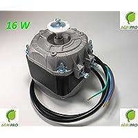 Motor con ventilador pentavalente W 16,compresor de nevera