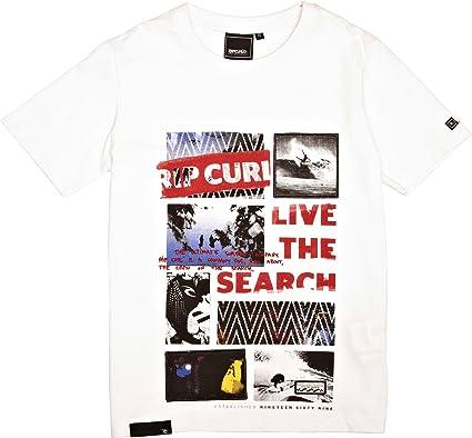 Rip Curl Mixed Bag - Bolsa de Camisa para niño, tamaño 12 años, Color Blanco óptico: Amazon.es: Ropa y accesorios