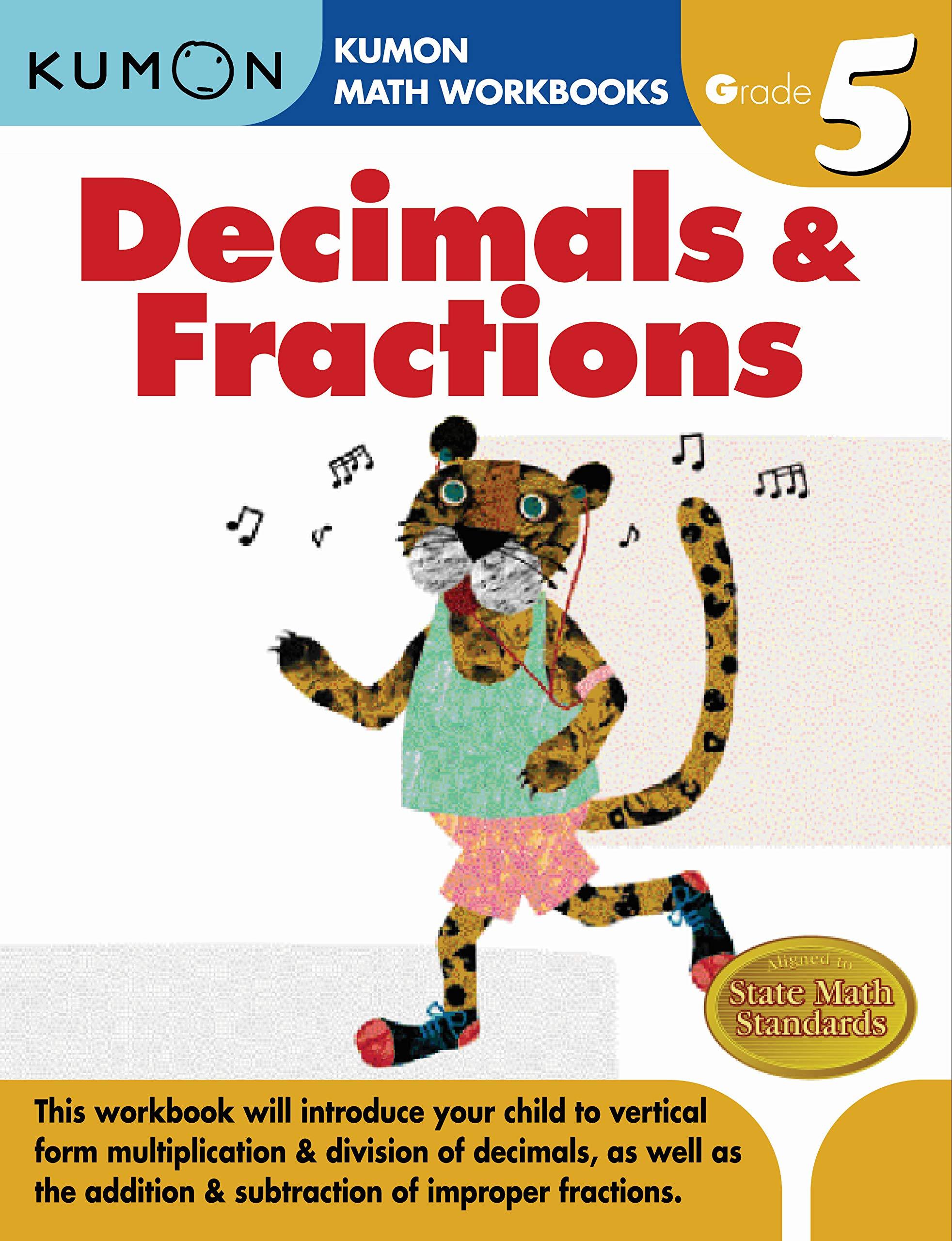 Buy Grade 5 Decimals Fractions Kumon Math Workbooks Book Online At Low Prices In India Grade 5 Decimals Fractions Kumon Math Workbooks Reviews Ratings Amazon In [ 2560 x 1964 Pixel ]