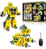 USA Toyz Truck Bots Construction Truck Robots for Kids - STEM