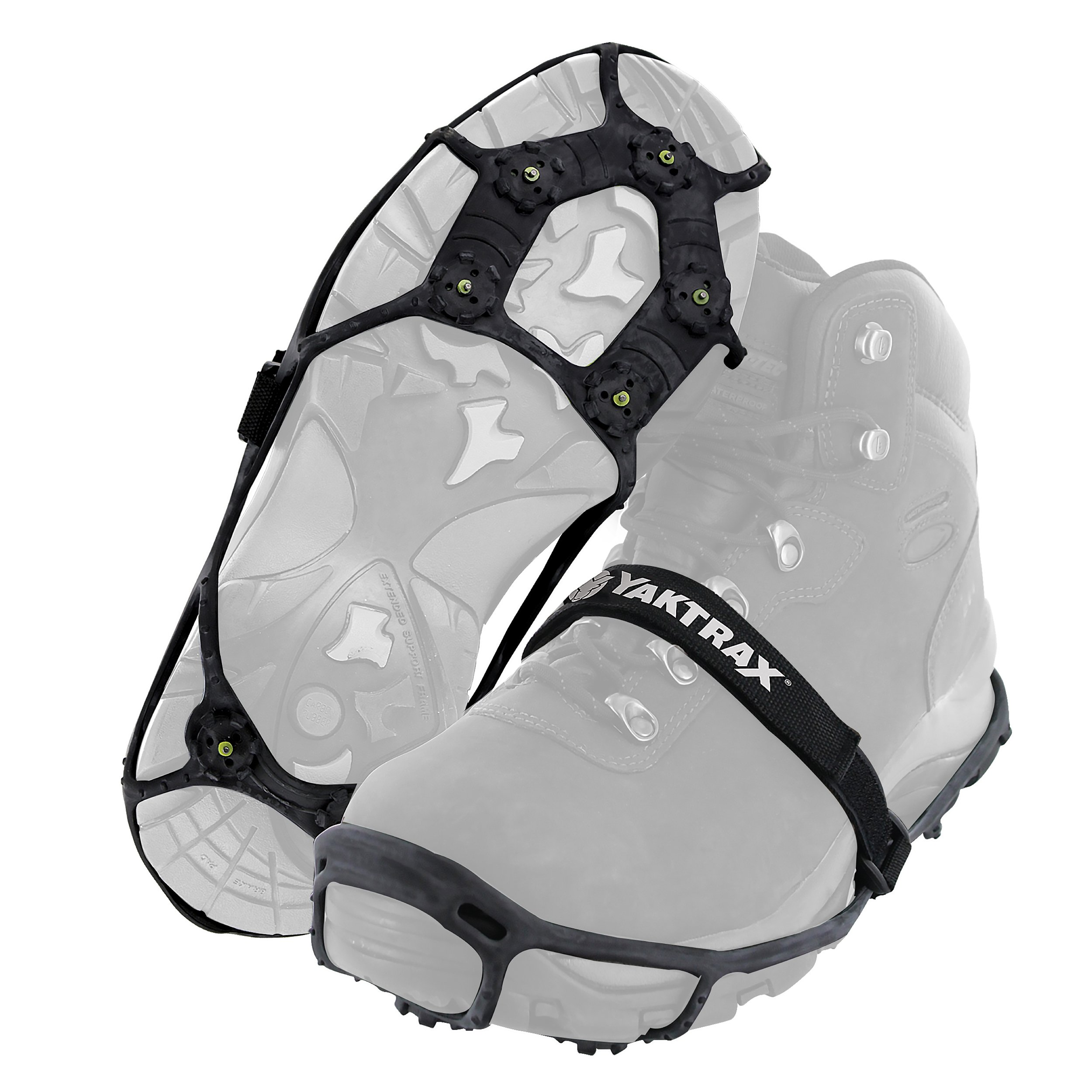Yaktrax Spikes for Walking on Ice and Snow (Pair), Large/X-Large