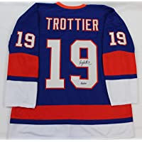 $159 » Bryan Trottier Autographed Blue New York Islanders Jersey - Hand Signed By Bryan Trottier and Certified Authentic by JSA - Includes…