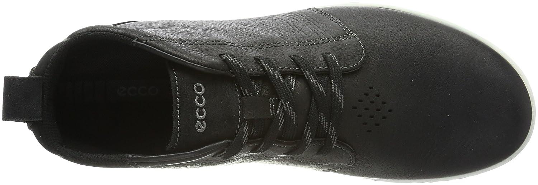 Ecco Herren Urban Lifestyle Schwarz Desert Boots Schwarz Lifestyle (Black/Black) 294957