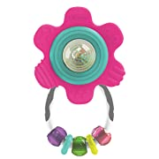 Infantino Spin & Teethe Gummy Flower Rattle