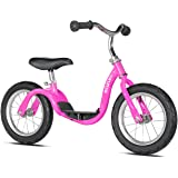 Kazam Step Through Balance Bike Scooter for 2-5 Years, Pink