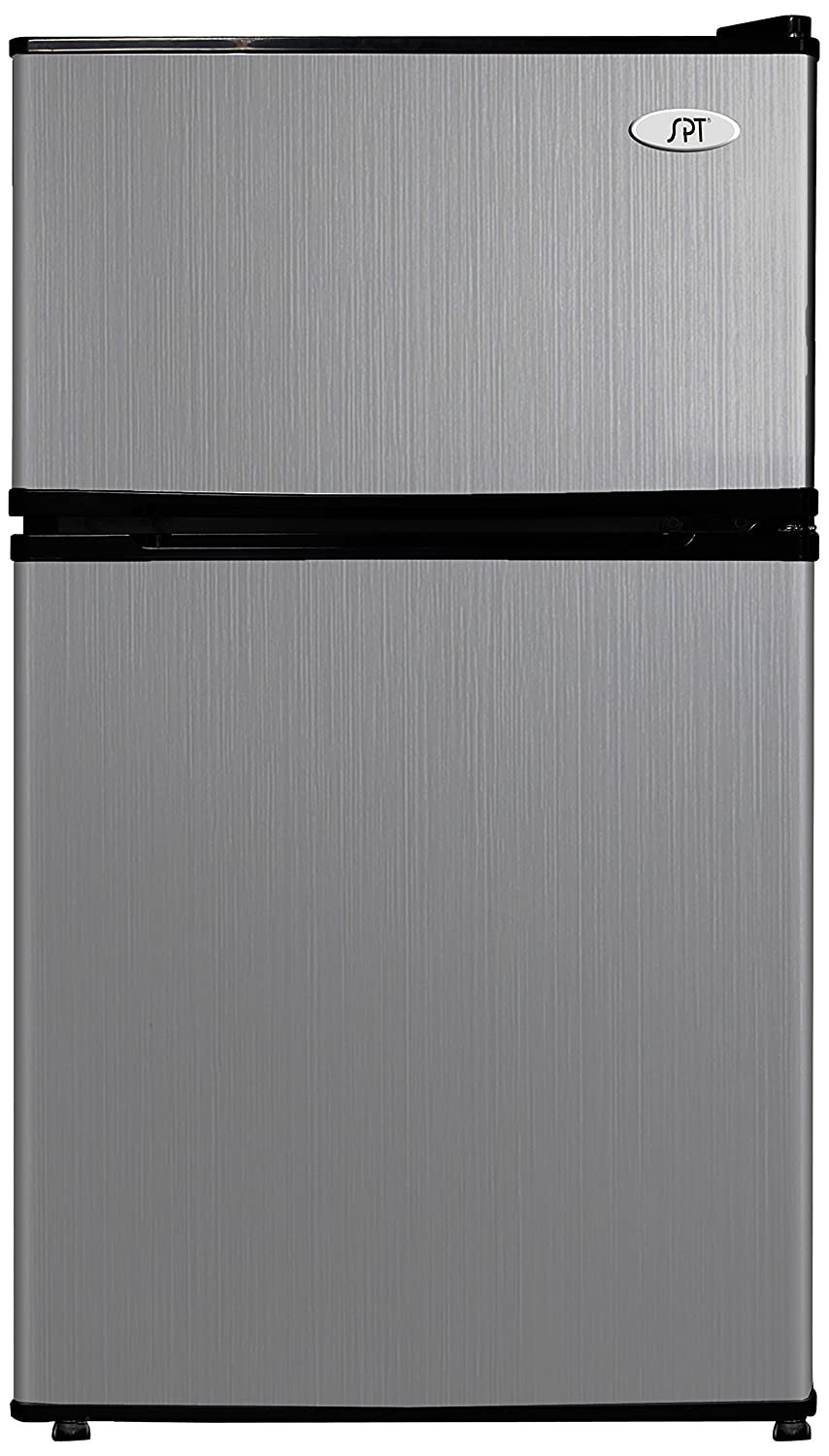 Amazon.com: SPT RF 314SS Double Door Refrigerator, Stainless Steel, 3.1  Cubic Feet: Appliances