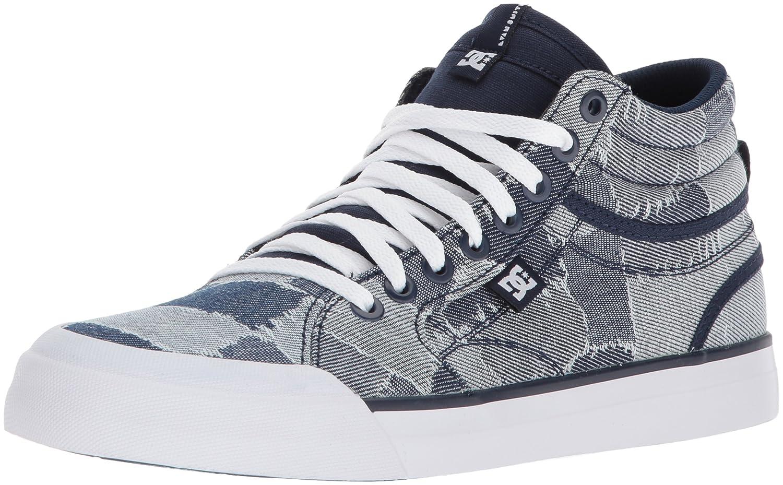 DC Women's Evan HI TX LE Skate Shoe B0731Y24QP 10.5 B(M) US Blue/Blue/White