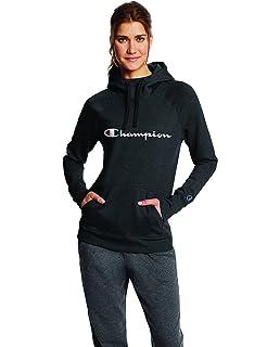6d8f50b3ac7f Amazon.com  Champion Women s Fleece Pullover Hoodie  Clothing