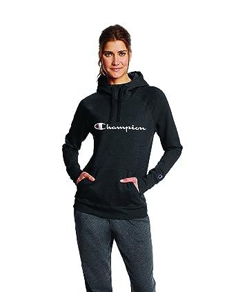 720add0dbf8 Champion Women s Fleece Pullover Hoodie at Amazon Women s Clothing ...