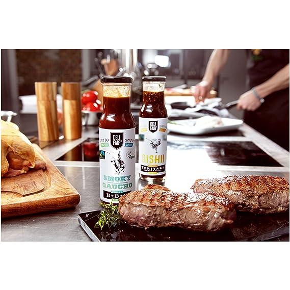 DeliFair BBQ Smokey Gaucho, Juego de 6, Würz Sauce, Bar ...
