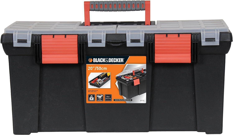 Black+Decker BDST1-70582 - Cja de herramientas 20
