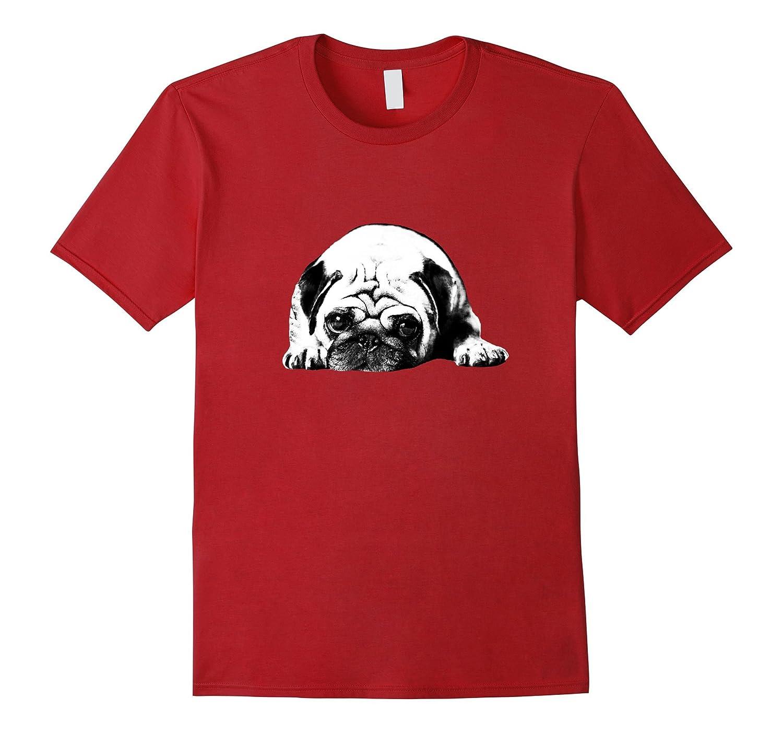 2017 Cute Lovely Dog Pug T shirt-TH