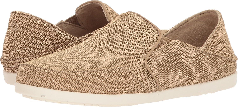 OLUKAI Waialua Mesh Shoes - Women's B073V98H6V 6.5 B(M) US|Khaki/Khaki