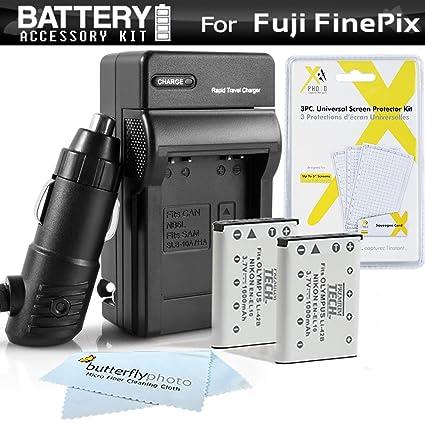 Amazon Com 2pk Battery Charger Kit For Fuji Fujifilm Instax Mini