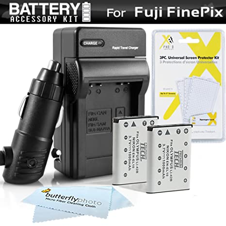2PK batería + cargador para Fuji Fujifilm Instax Mini 90 Neo ...