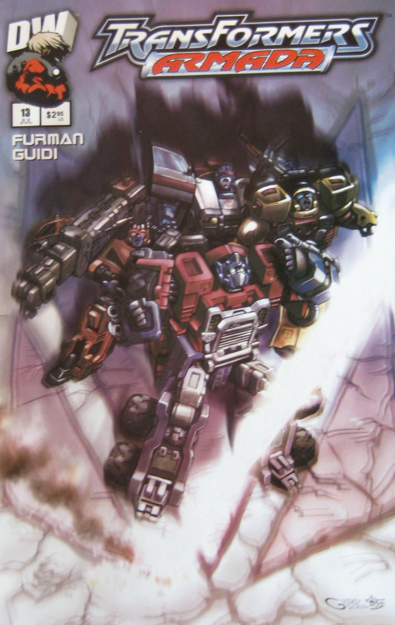 Download TRANSFORMERS ARMADA, # 13, July 2003 (Volume 1) PDF