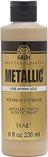 product image for FolkArt Paint, 8 oz, Metallic Antique Gold