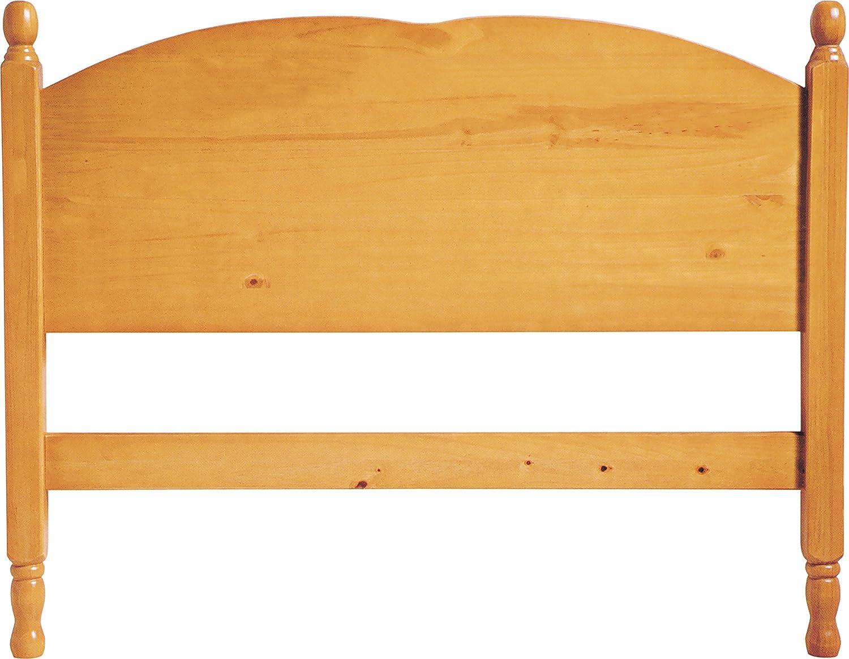 La Factoría Muebles - Cabecero juvenil en pino macizo a, talla 90 x 197 x 52cm