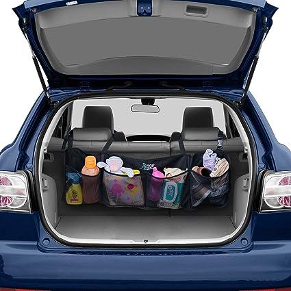 Amazon best auto trunk organizer keep your car clean and best auto trunk organizer keep your car clean and organized durable foldable cargo net solutioingenieria Choice Image