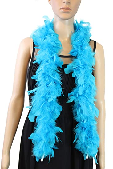 25 Pcs CHANDELLE 80 Gram FEATHER BOAS 2 Yards YOU CHOOSE COLOR Costume//Halloween