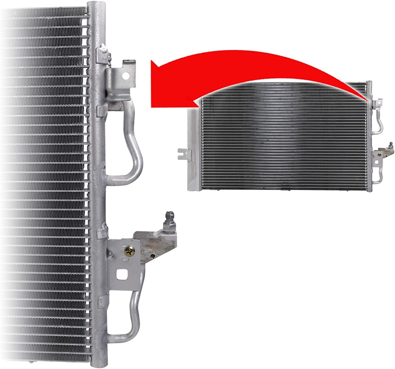1x Kondensator Klimaanlage Klimak/ühler Klima K/ühler Klimakondensator 545 x 410 x 16