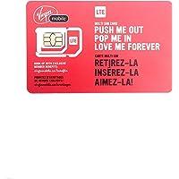 Virgin Multi Triple Format Sim Card Prepaid/ Postpaid LTE