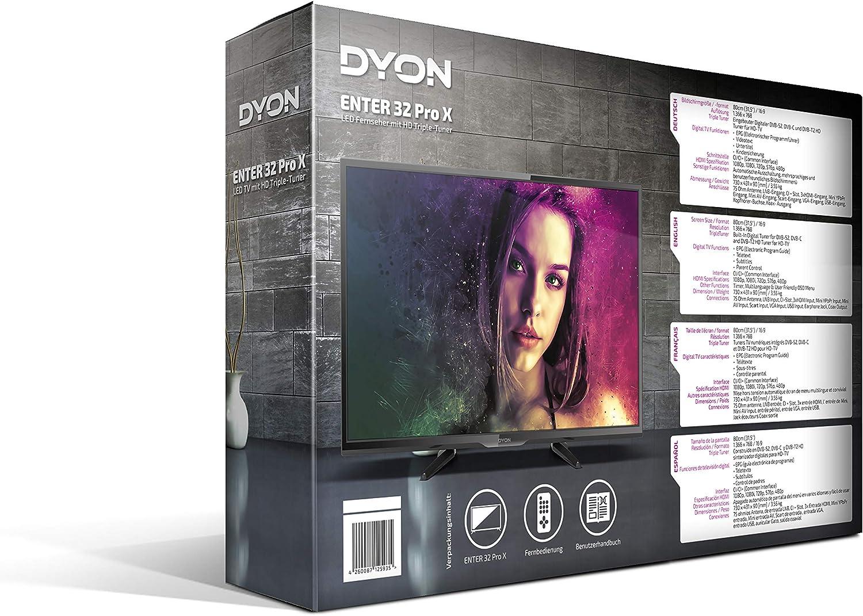 DYON Enter 32 Pro-X 80cm 31,5 TV: Amazon.es: Electrónica