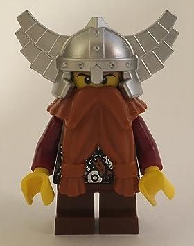 LEGO Metallic Silver Castle Minifig Helmet