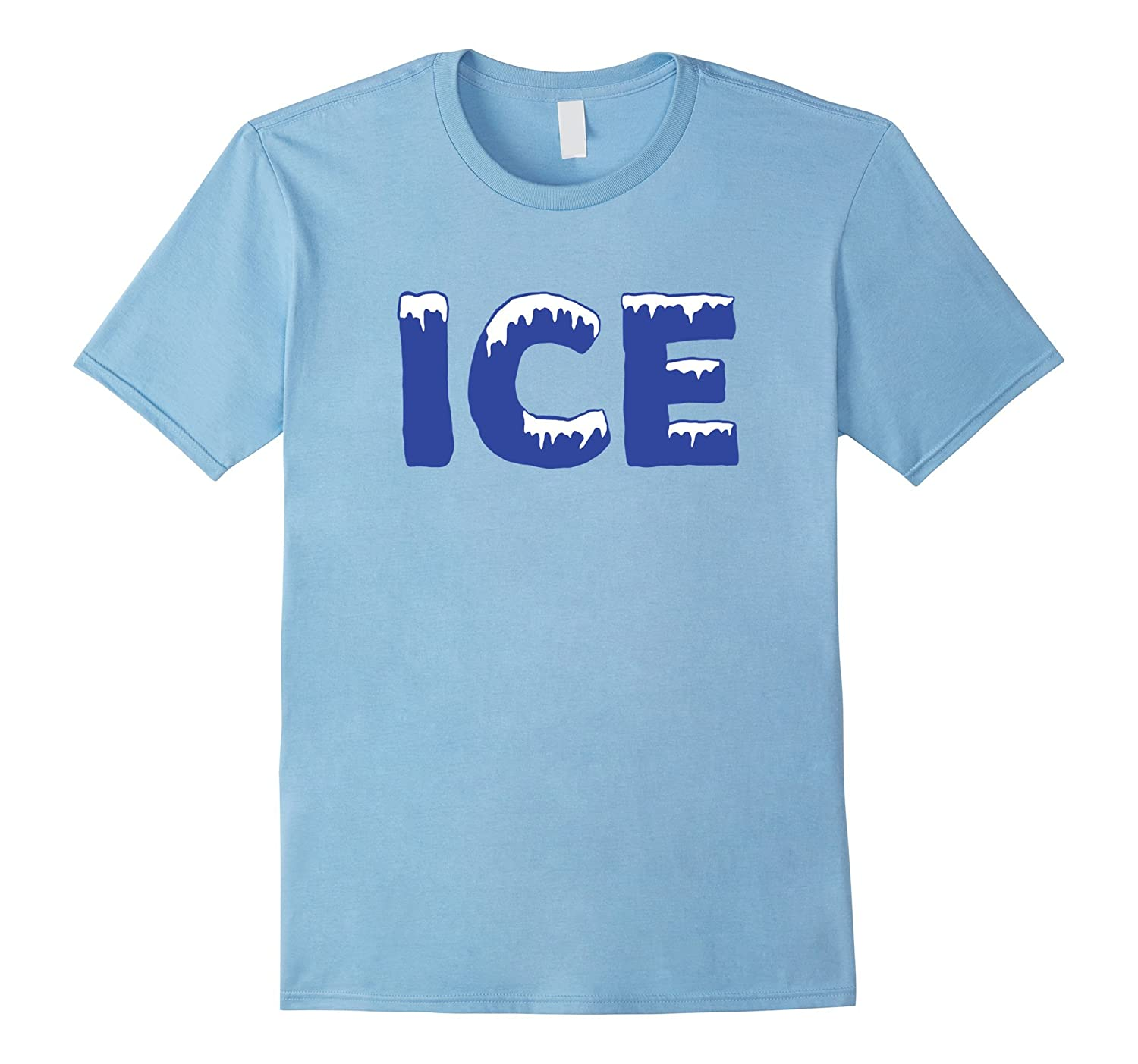 Funny Family Halloween Costume Shirt - Ice and Baby-FL