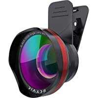 SKYVIK Signi Pro 2 in 1 (Wide+Macro) Clip on Mobile Camera Lens Kit for iPhone, Samsung and Other Smartphones.