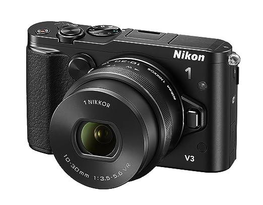 2 opinioni per Nikon 1 V3 + 1 NIKKOR VR 10-30mm f/3.5-5.6 PD-ZOOM [Versione EU]