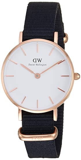 f3f9fceda35a68 Image Unavailable. Image not available for. Colour: Daniel Wellington  Women's DW00100251 Classic Petite Cornwall in White 28mm Watch
