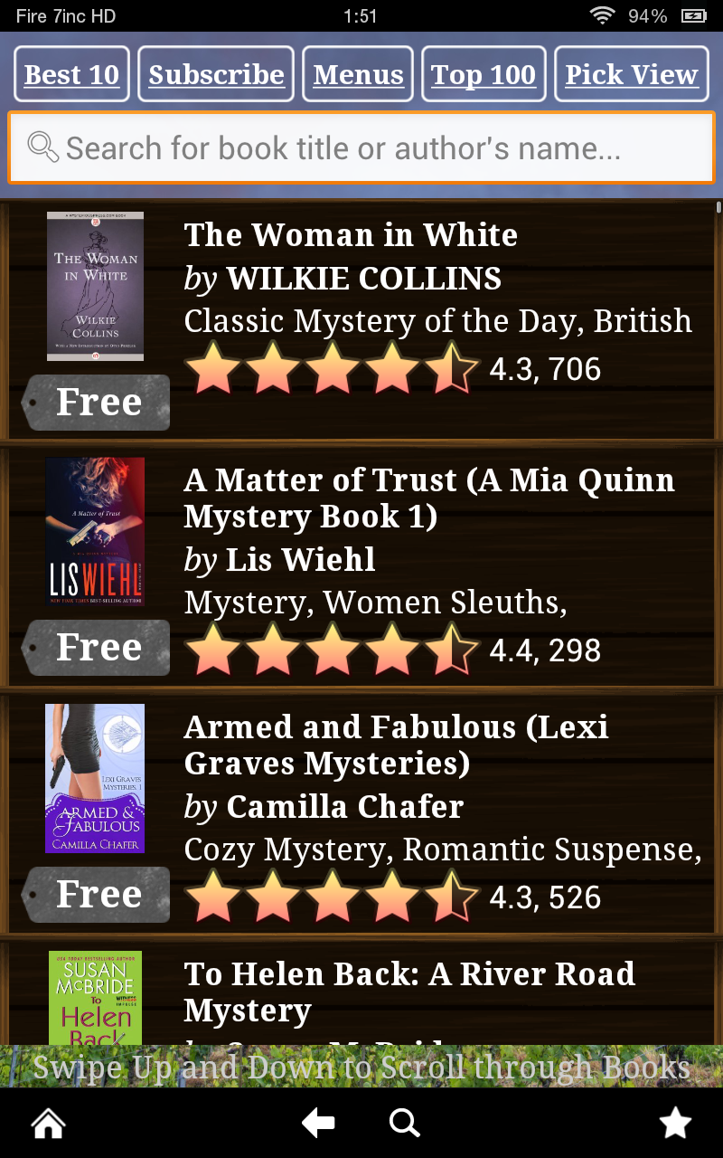 Free Mystery Books for Kindle, Free Mystery Books for